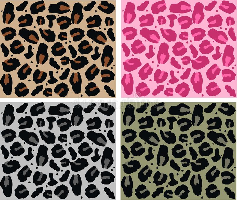 Configuration animale illustration stock