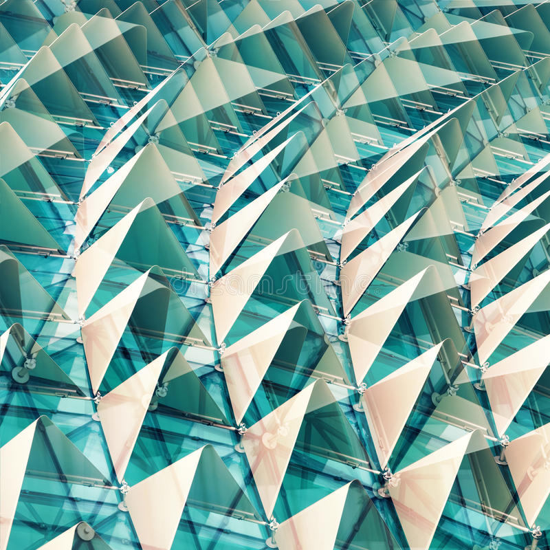 Configuration architecturale abstraite image libre de droits