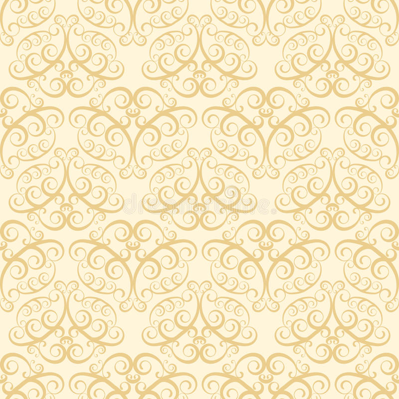 Configuration beige de papier peint illustration stock