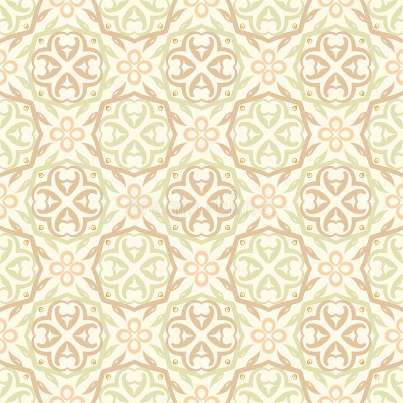 Configuration beige de papier peint illustration libre de droits
