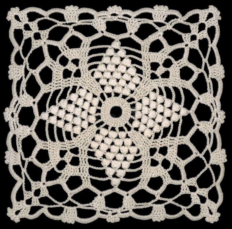 Configuration blanche de lacet photographie stock