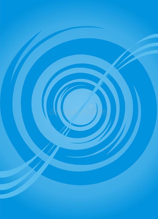 Configuration bleue illustration libre de droits