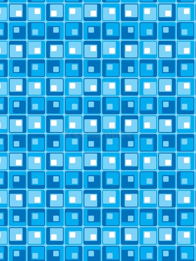 Configuration bleue de vecteur de type illustration libre de droits