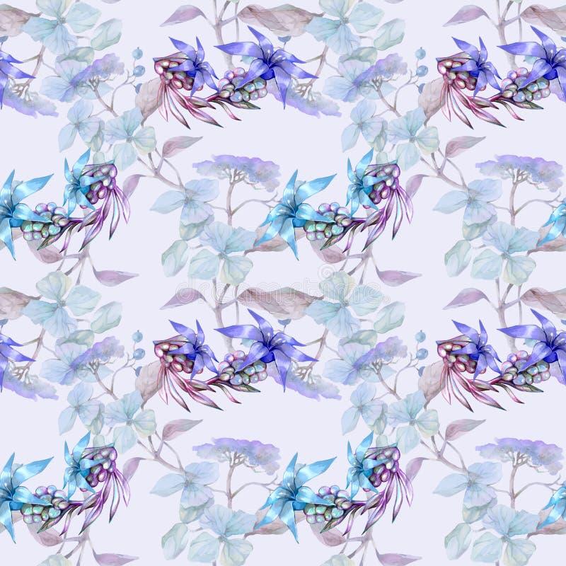 Configuration bleue molle illustration libre de droits