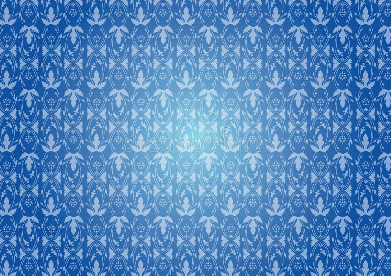 configuration bleue sans joint illustration libre de droits