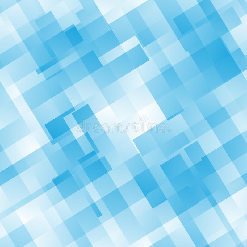 Configuration bleue sans joint de tuile illustration de vecteur