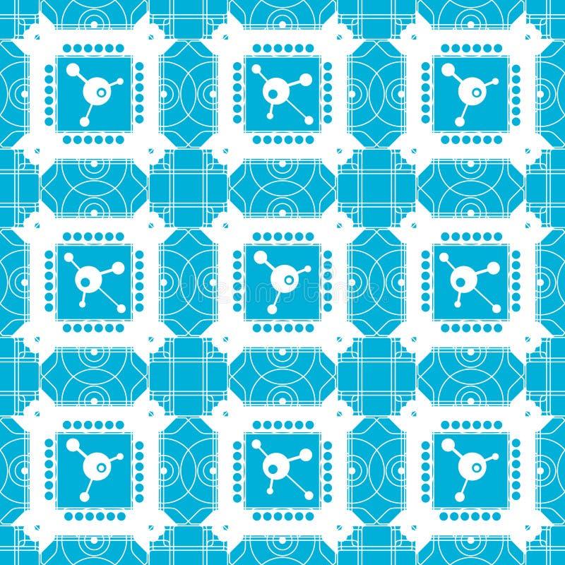 Configuration carrée illustration de vecteur