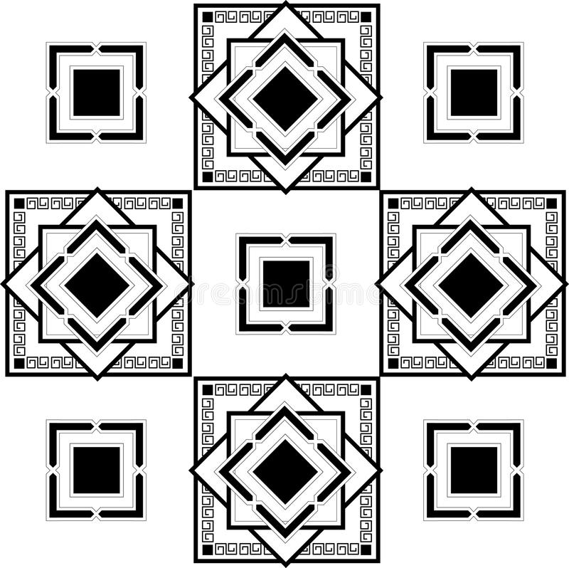 Configuration carrée photos stock