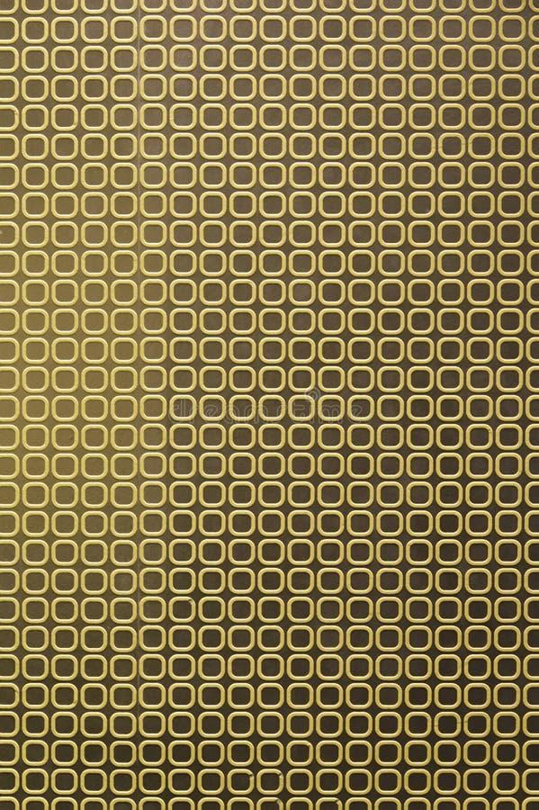 Configuration carrée de Brown illustration stock