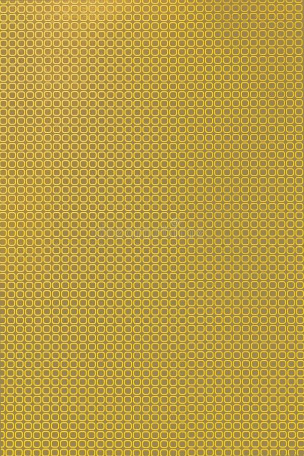 Configuration carrée jaune illustration stock