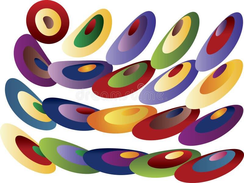 Configuration colorée illustration libre de droits