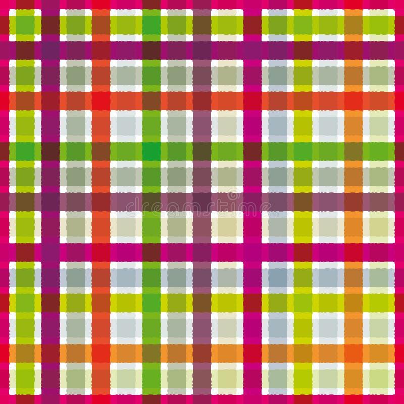 Configuration colorée de textile. illustration de vecteur