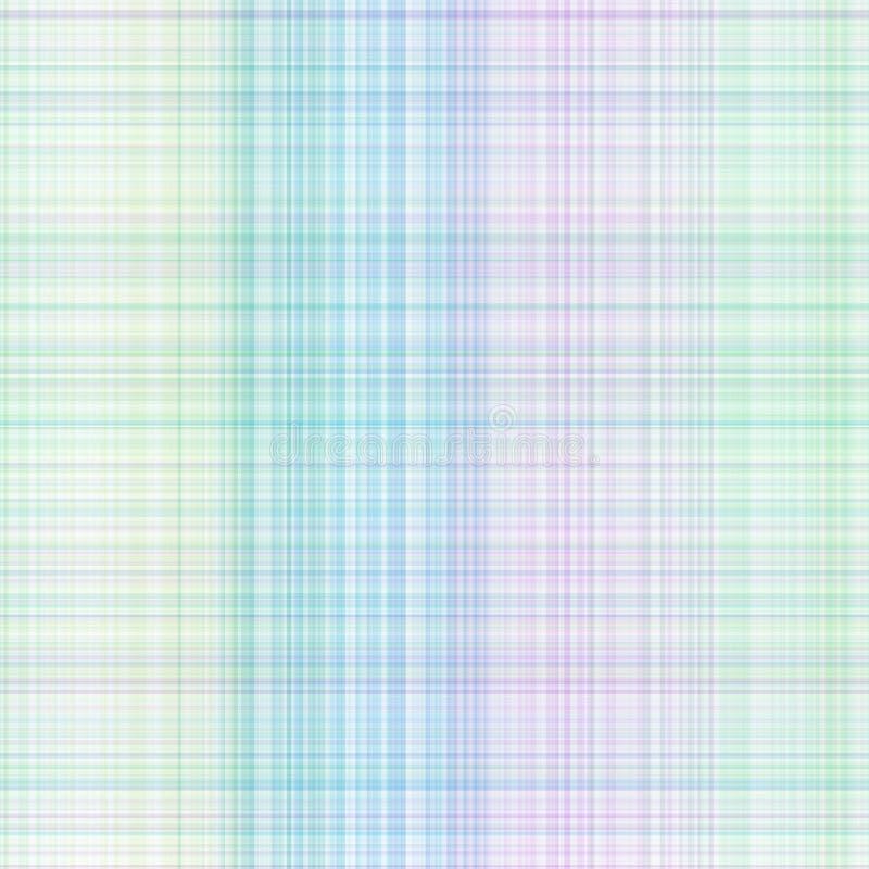 Configuration colorée en pastel de guingan illustration libre de droits