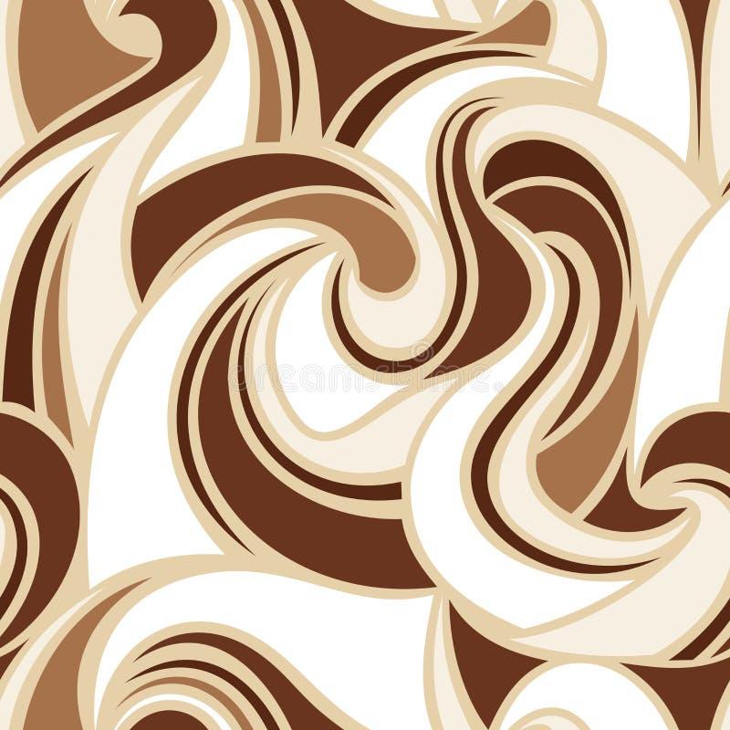 Configuration colorée sans joint abstraite Illustration de vecteur illustration de vecteur