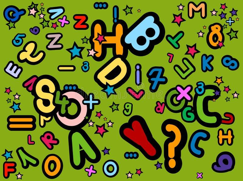 Configuration d'ABC illustration de vecteur