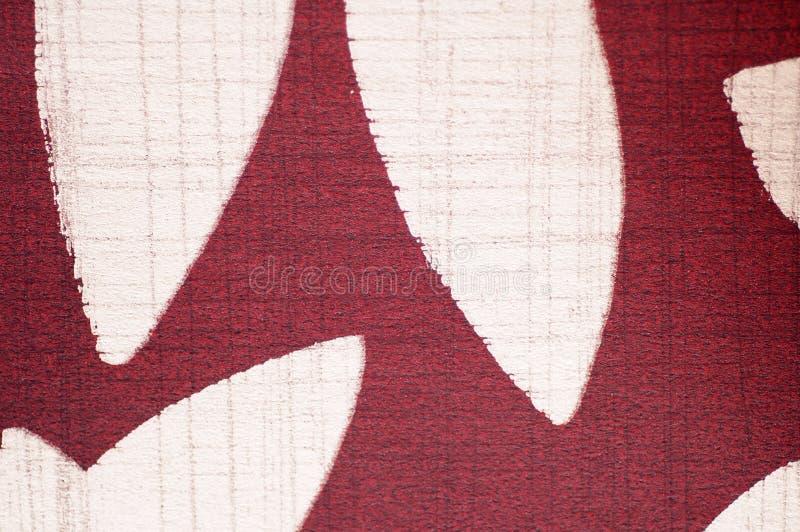 Configuration d'impression sur le tissu comme fond illustration stock