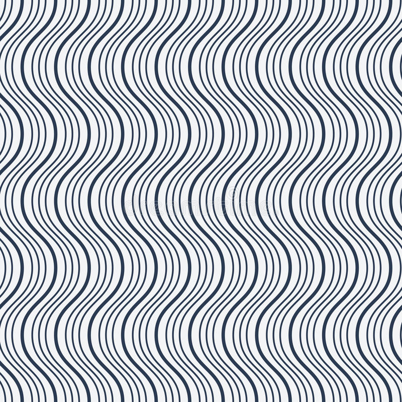 Configuration d'onde sans joint illustration stock