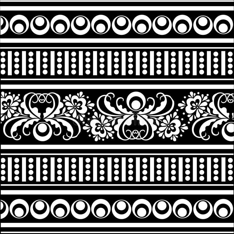 Configuration d'oriental de vecteur illustration de vecteur