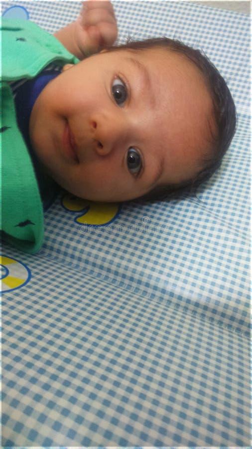 Configuration de bébé photos libres de droits