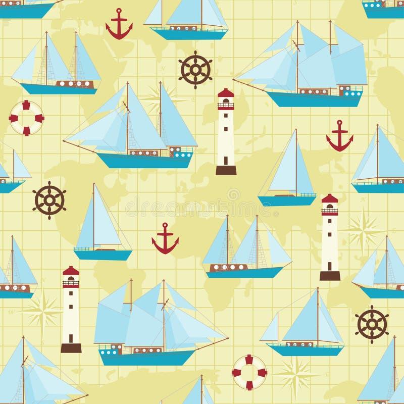 Configuration de bateau illustration libre de droits