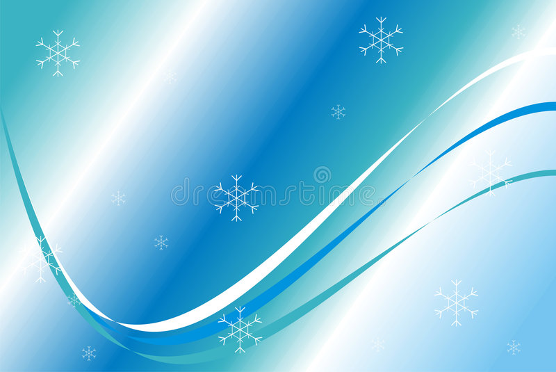 Configuration de bleu de Noël illustration libre de droits