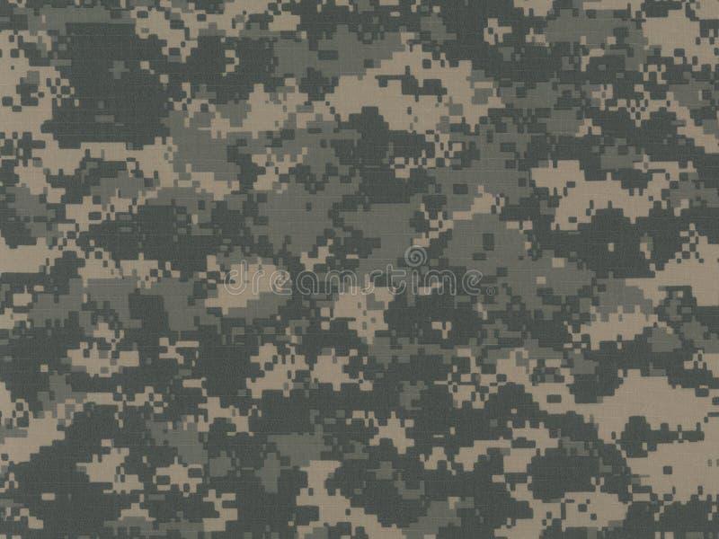 Configuration de camouflage d'ACU Digital images libres de droits