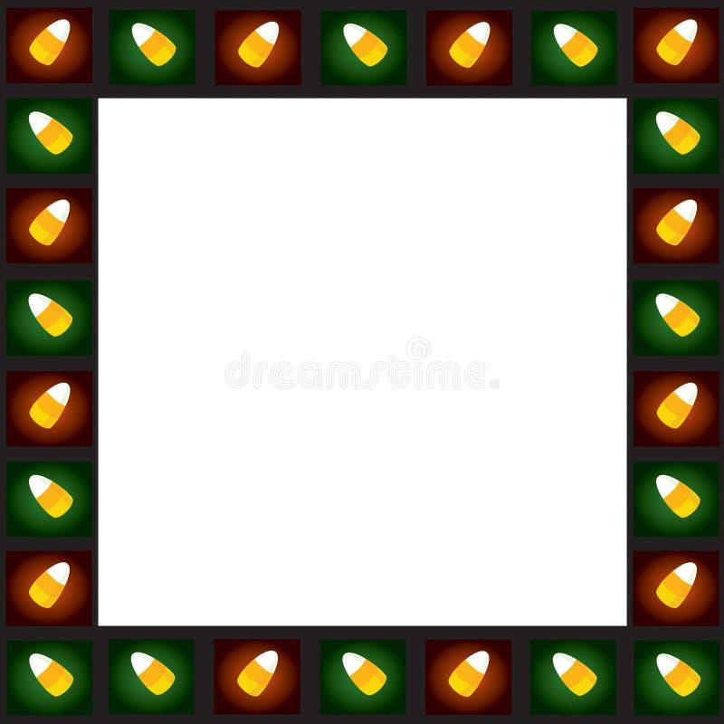 Configuration de Candycorn illustration libre de droits