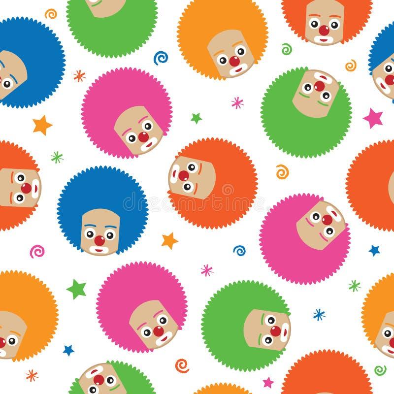 Configuration de clown illustration libre de droits