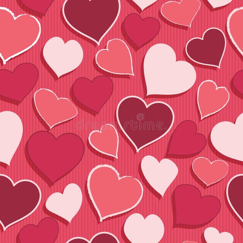Configuration de coeur illustration de vecteur