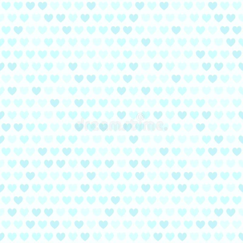 Configuration de coeur Fond sans joint de vecteur illustration stock