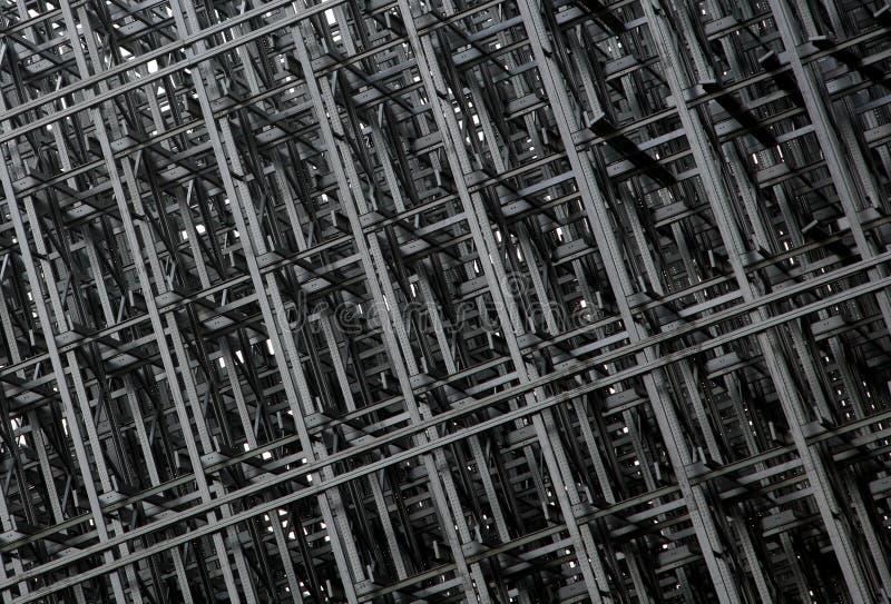 Configuration de construction en métal image stock
