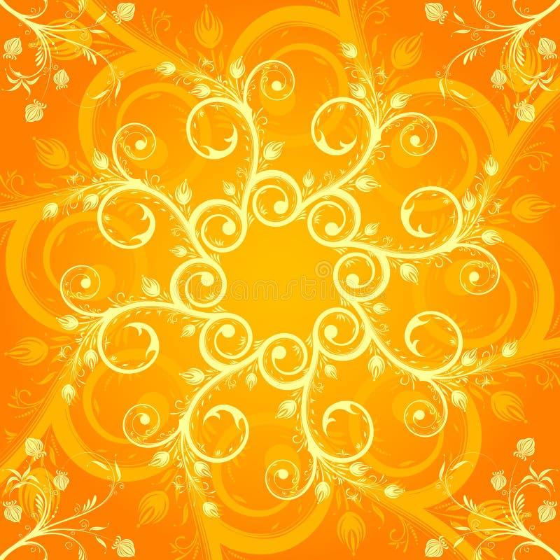 Configuration de fleur abstraite illustration stock