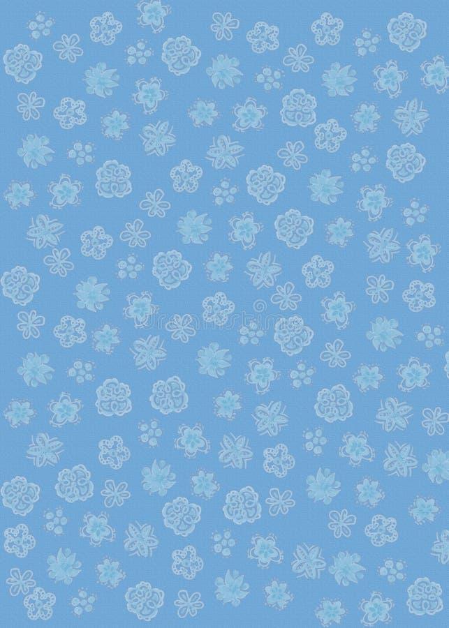 Configuration de fleur abstraite image libre de droits