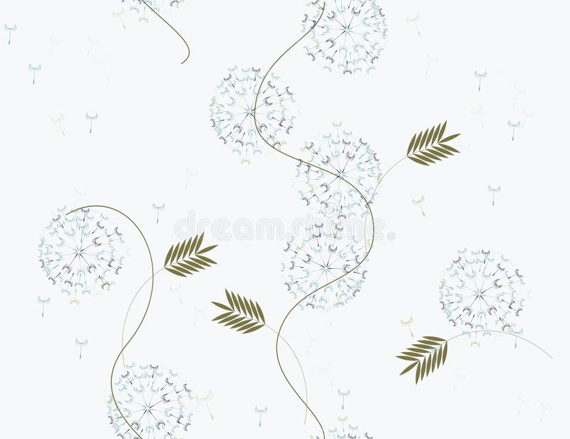 Configuration de fleur sans joint illustration libre de droits