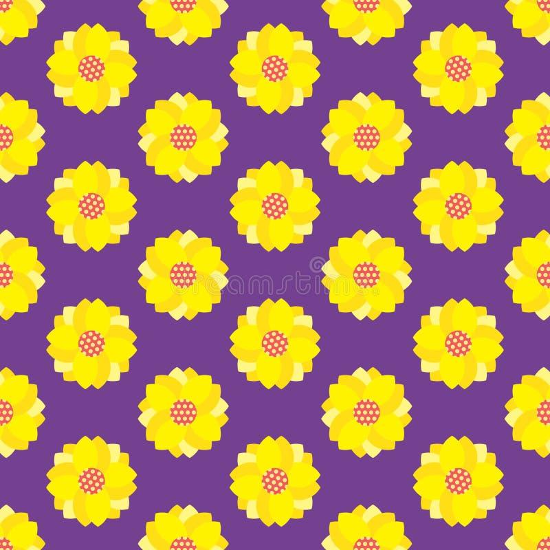 Configuration de fleur sans joint images libres de droits