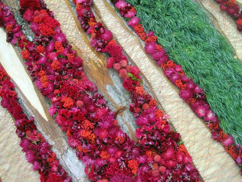 Download Configuration De Fleurs Rouge Photo stock - Image du centrale, fleurs: 77155498