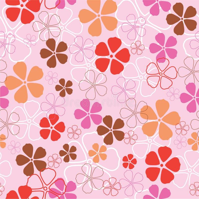 Download Configuration De Fleurs Sans Joint Illustration de Vecteur - Illustration du lame, pouvez: 8665669