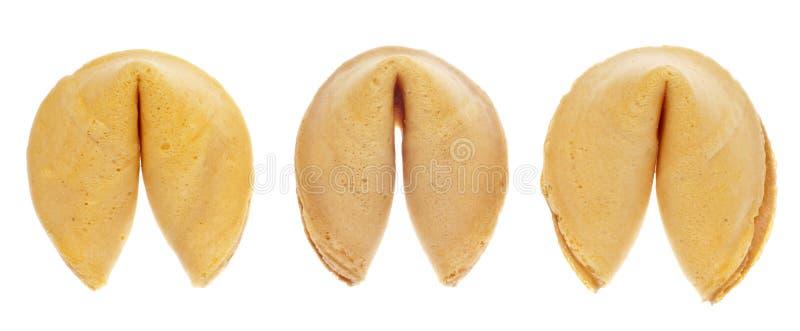 Configuration de fond de biscuit de fortune photographie stock libre de droits