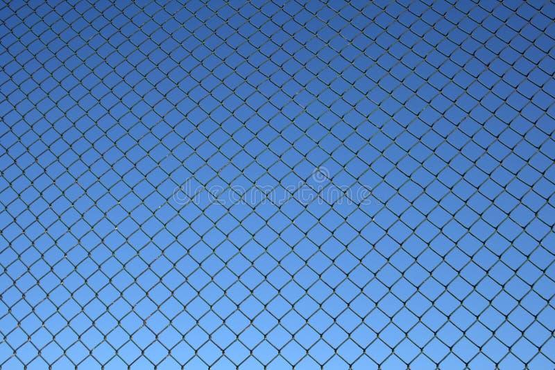 Configuration de frontière de sécurité de maillon de chaîne images stock