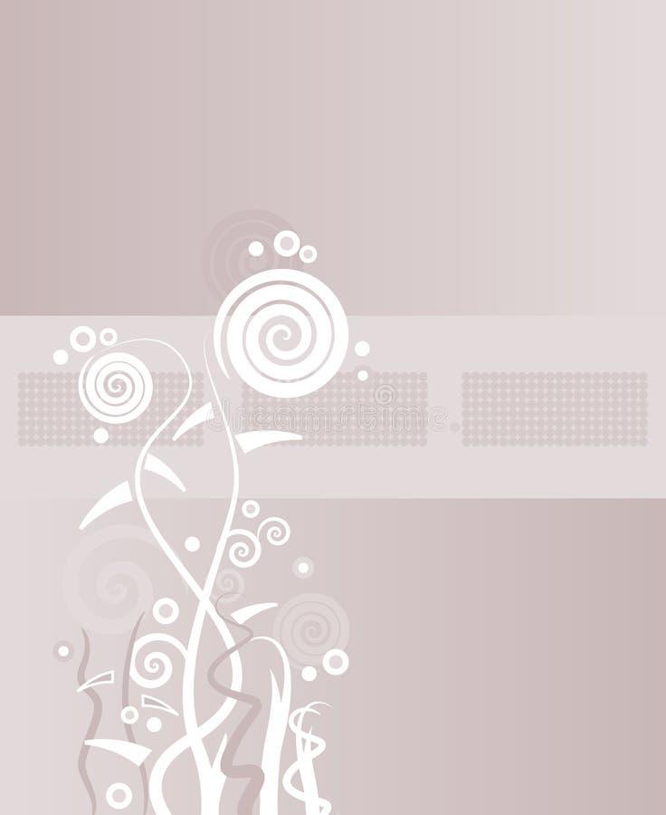 Configuration de grunge de feuillage illustration de vecteur