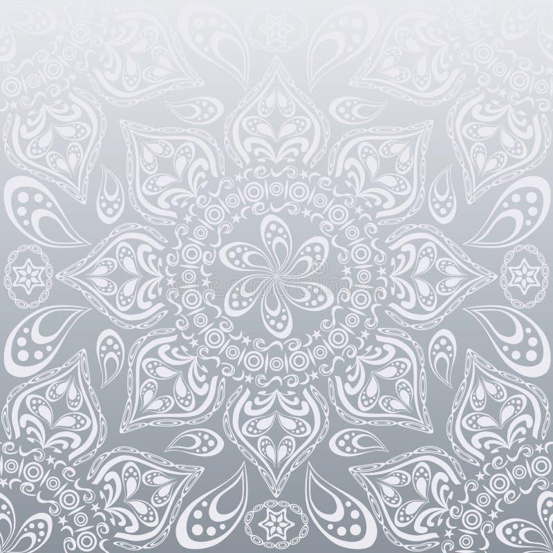 Configuration de mandala illustration stock