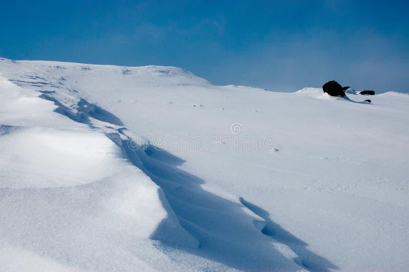 Configuration de neige photo libre de droits