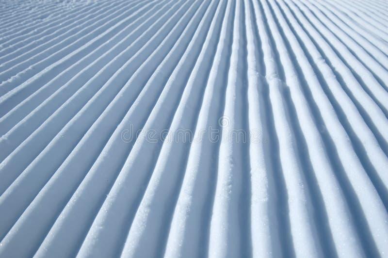 Configuration de neige photographie stock libre de droits