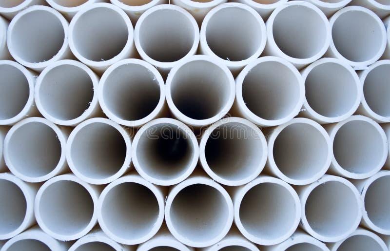 Configuration de pipe de PVC photo stock
