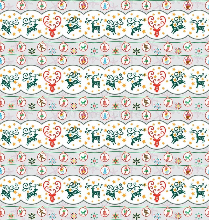 Configuration de ramassage de Noël illustration libre de droits