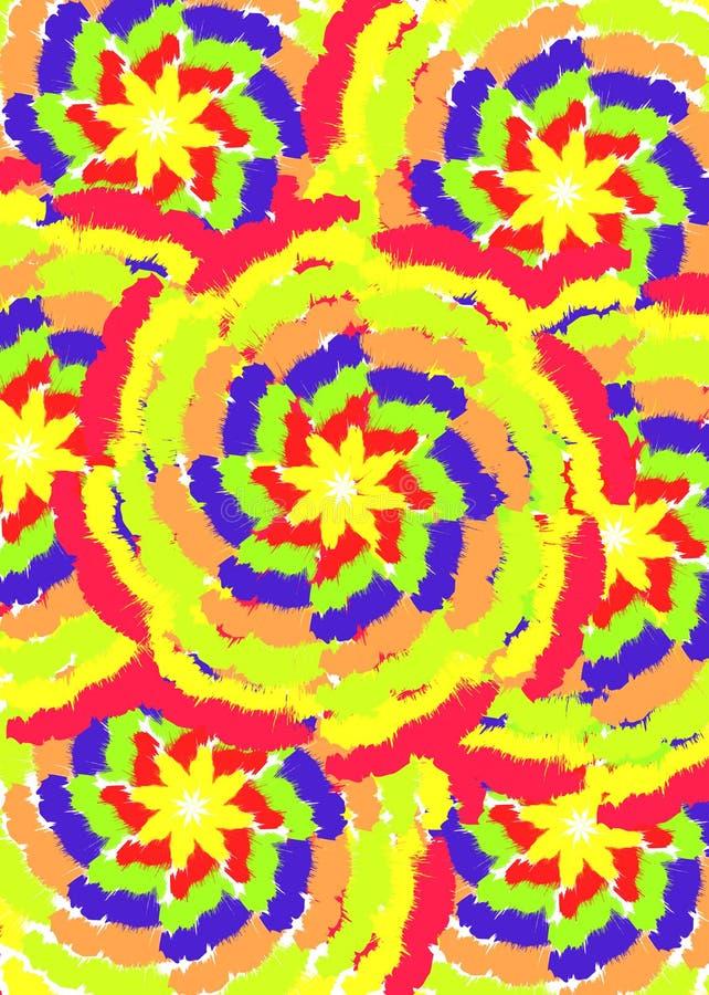 Configuration de tape de couleur illustration de vecteur