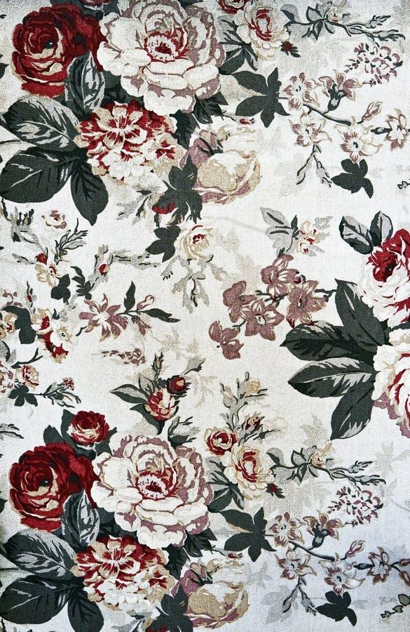 Configuration de tapisserie florale légère image libre de droits