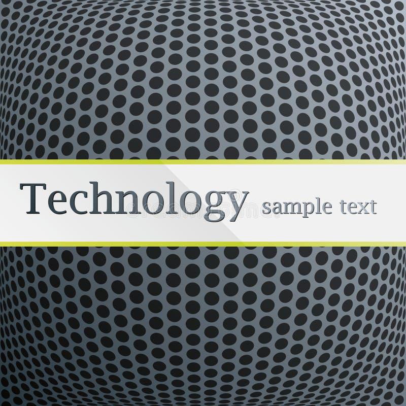 Configuration de technologie illustration stock