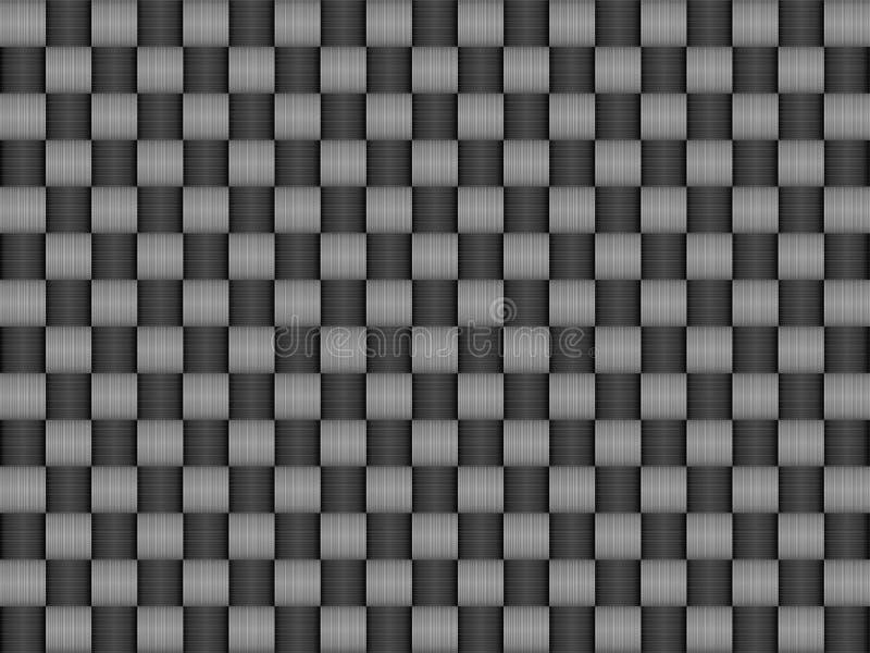 Configuration de texture de carbone illustration de vecteur