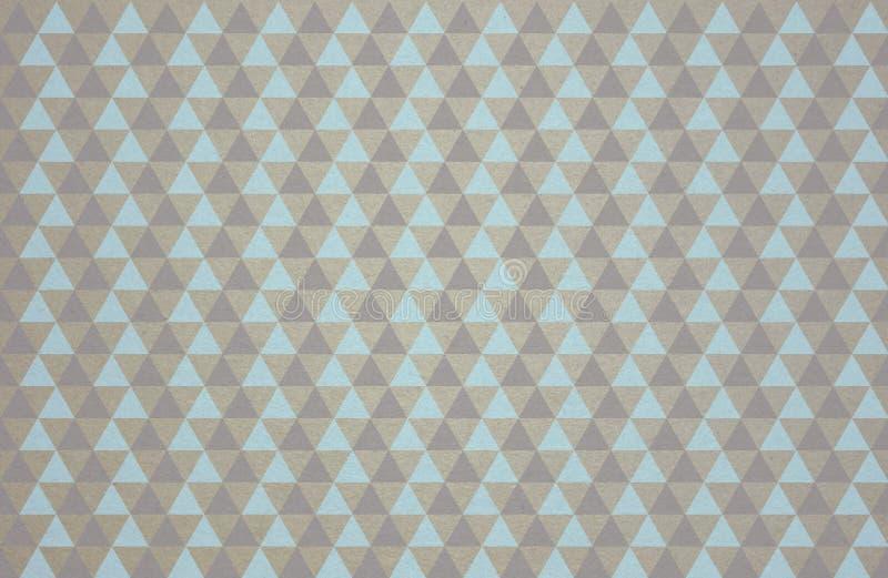 Configuration de triangle photos stock